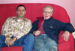 Peter Brkusic and Ginger Baker